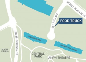 Food Trucks at CTC Map