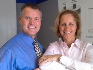 Beatrice K. Schultz and her partner, Mark Guthrie
